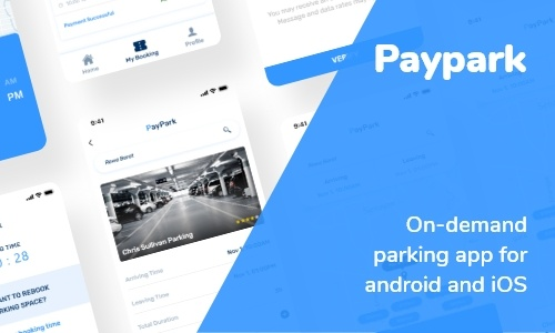 paypark - Parking Finding App
