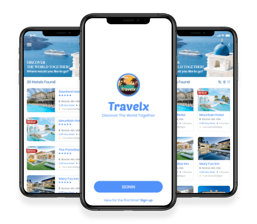TravelX: Travel App, App Development Company