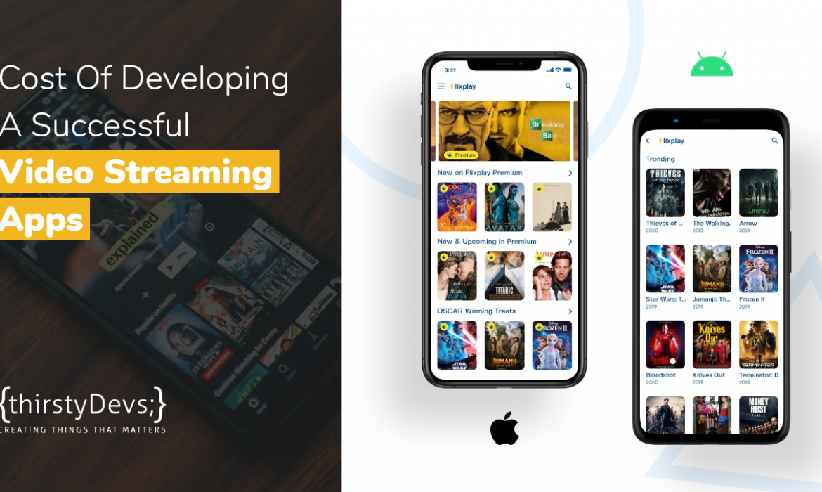 Cost Of Developing A Successful Video Streaming Apps