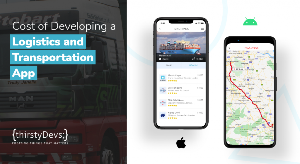 Cost of Developing a Logistics and Transportation App