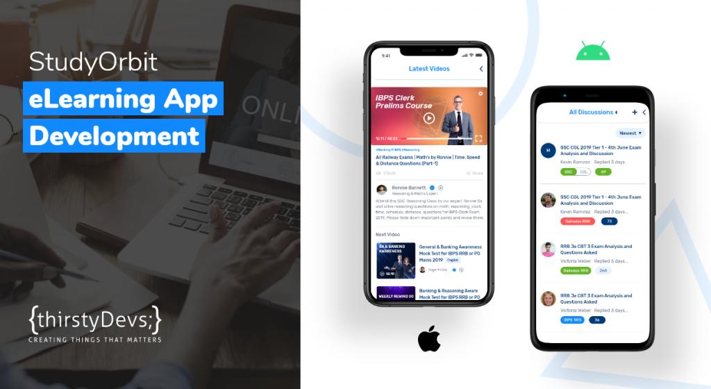 StudyOrbit eLearning App Development