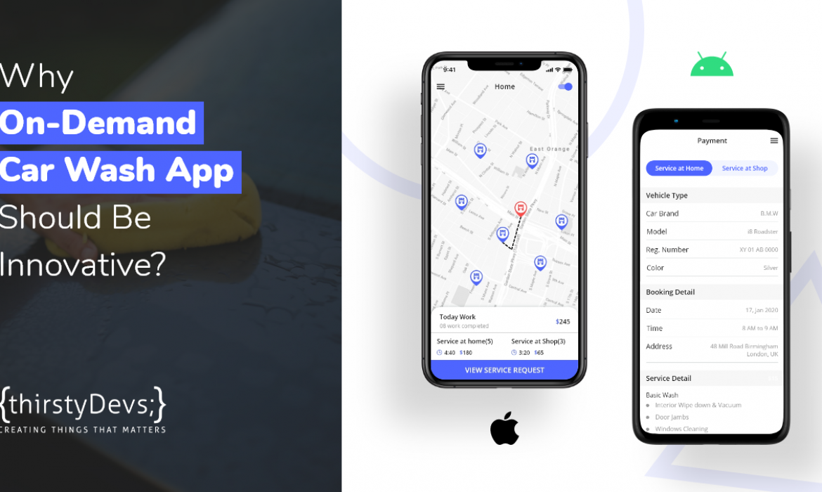 Why On-Demand Car Wash App Should Be Innovative?
