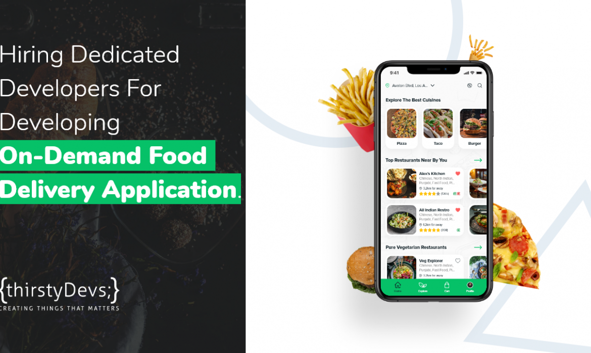 Hiring developers for Food delivery Mobile Applciation