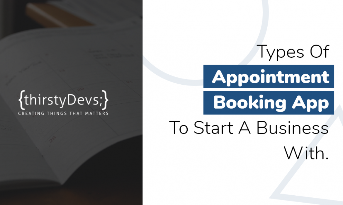 Know the appointment booking apps.